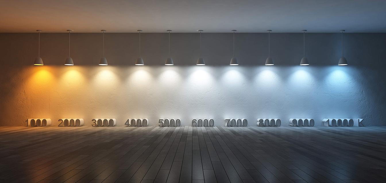 Éclairage - Température de couleur