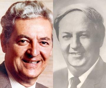 Marcel Pageau et Guy Morel, fondateurs de Pageau Morel